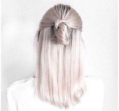 Perłowe włosy - trend na lato 2017