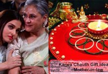 #KarwaChauth Gift Ideas for Mother-in-law
