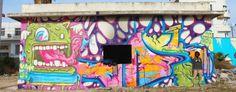 Fresques Par Va-jo - Tunis (Tunisie)