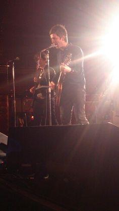 Noel Gallagher secret gig south London 27 / 03 / 15