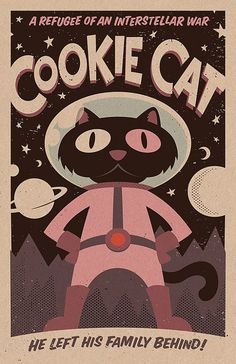 Cookie Cat from Steven Universe. print on craft paper Steven Universe Poster, Steven Universe Cookie Cat, Steven Universe Wallpaper, Universe Art, Steven Universe Stickers, Chef D Oeuvre, Oeuvre D'art, Cool Posters, Cartoon Wallpaper