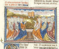 Bible historiale, MS M.323 II, fol. 260v - Images from Medieval and Renaissance Manuscripts - The Morgan Library & Museum