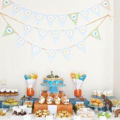Fabrico Caseiro: Festa de Aniversário - Menu & Decoração
