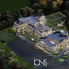 Palace Interior, Mansion Interior, Interior Design Dubai, Interior Architecture, Architecture Plan, Luxury Homes Dream Houses, Building Exterior, Architect Design, Exterior Design