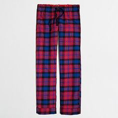 Factory flannel sleep pant