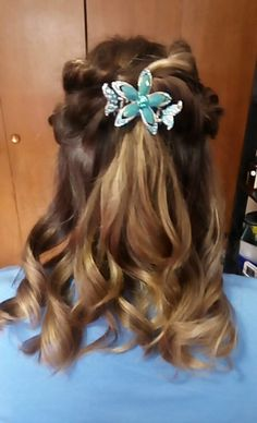 Rope Braids and Curls Braids With Curls, Prom Hairstyles, Long Hair Styles, Beauty, Long Hairstyle, Prom Hair, Long Haircuts, Long Hair Cuts, Beauty Illustration