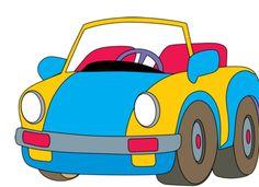 Toy Train Clip Art | Clip Art of a Toy Car