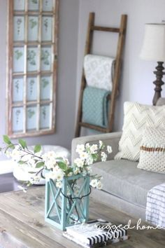 Best Country Decor Ideas - Easy Rustic Ladder - Rustic Farmhouse Decor Tutorials and Easy Vintage Shabby Chic Home Decor for Kitchen, Living Room and Bathroom - Creative Country Crafts, Rustic Wall Art and Accessories to Make and Sell