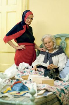 Jessica Lange and Drew Barrymore in Grey Gardens