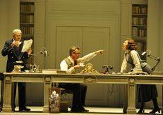"""""""My Fair Lady"""" Paris revival 2010. Théâtre du Châtelet, design by Robert Carsen"""