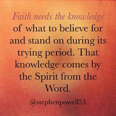 #faith #word #spirit #faithneedstheword #walkbyfaith #faithwalk #faithknows