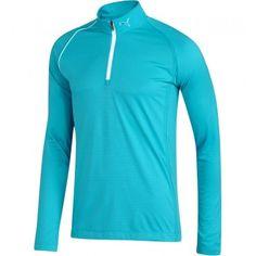 15cb3e779f07 1 4 Zip Long Sleeve - Vivid Blue. Jeff Bushman · PUMA Golf