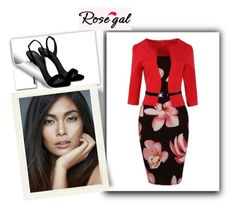 """""""Rosegal"""" by jasko4511 ❤ liked on Polyvore featuring Giuseppe Zanotti"""