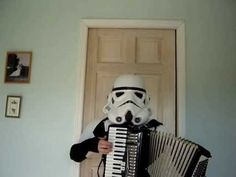 stormtrooper playing accordian
