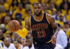 LeBron James y los Cavaliers empatan serie final a uno con los Warriors 0e8cb4971