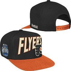 Reebok Philadelphia Flyers 2012 Nhl Winter Classic Snapback Hat One Size Fits All by Reebok. $12.99. Show support for your favorite team in the 2012 NHL® Winter Classic® in the Reebok® snap-back hat. This team-colored hat features the team name and logo embroidered on the front; the Winter Classic® logo is depicted on the right side.