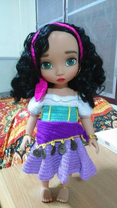 Esmeralda (Disney Animators repaint)