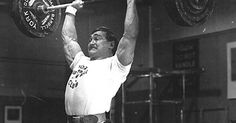 Bill Starr on the overhead press