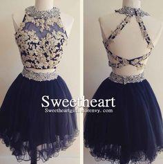 2 piece blue dress 12