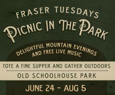 Live Music| Picnic in the Park| Winter Park Fraser| Free Concert| Summer Events in Winter Park  Fraser, CO