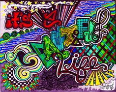 It's a beautiful life by Jill Lockhart, via Behance