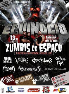 Coletivo La Migra: XV Encontro do Rock do Equinócio: evento beneficen...