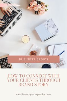 Learn how to connect with your ideal clients through YOUR story, and get started on writing it today! This is the perfect guide for small creative businesses, and you'll find a link to my free branding course within the blog post! Branding Course, Brand Story, Creative Business, Connection, Writing, Learning, Link, Blog, Free