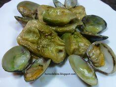 Recetas Caseras Fáciles MG: Alcachofas con almejas Pickles, Sprouts, Cucumber, Vegetables, Food, Youtube, Recipes With Vegetables, Homemade Recipe, Juices