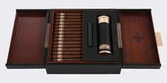 Jay Z has partnered with legendary brand Cohiba on a new super-premium collection of cigars and humidors called the Comador. The Cohiba name has been famous since it was first established in Cuba in 1966 as a limited production private brand Good Cigars, Cigars And Whiskey, Cuban Cigars, Jay Z, Cohiba Cigars, Rapper, Cigar Art, Premium Cigars, Cigar Room