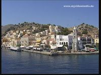 Symi a beautiful island in the Aegean Sea.     Picture gallery Greece http://www.myvideomedia.de/fotogalerie/greece.htm