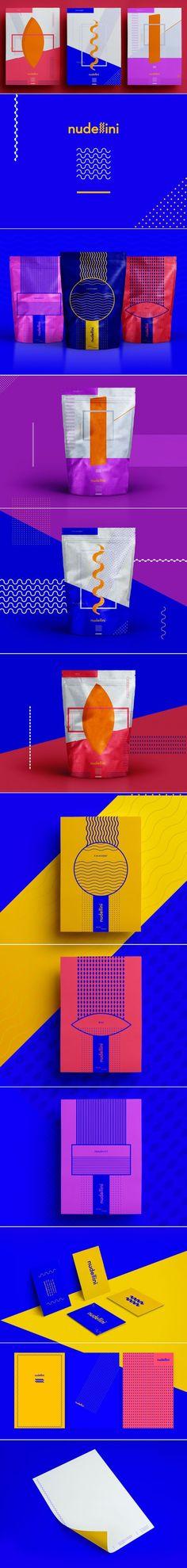 Nudellini Food Branding and Packaging by Ewelina Gąska | Fivestar Branding Agency – Design and Branding Agency & Curated Inspiration Gallery