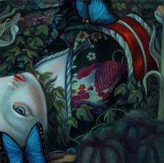 """Le parfum de Butterfly"", by Benjamin Lacombe (2011)."