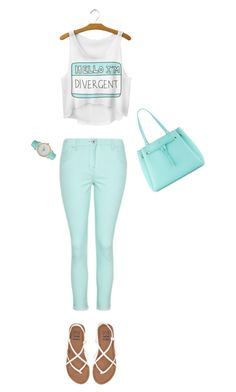 """""""Divergent"""" by horse-iv ❤ liked on Polyvore featuring George, Billabong, Kate Spade and Olivia Pratt"""