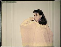 Audrey as Gigi, 1951. Photo by Arthur Rothstein