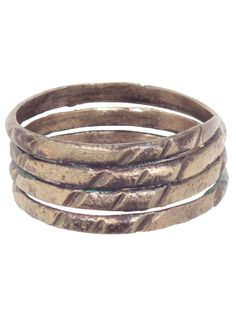 Ancient Viking Coil Ring C.900A.D. Size 12 1/2 by PicardiJewelers