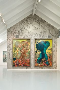 James Jean installation. #jamesjean http://www.widewalls.ch/artist/james-jean/