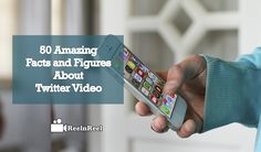 50 Amazing Facts and Figures about Twitter Video. Understand that users who watch Twitter videos are 28% more likely to buy the product. About Twitter, Seo News, Twitter Video, Amazing Facts, Marketing And Advertising, Fun Facts, 50th, Videos, Youtube