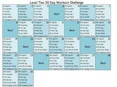 ooh this will be my June Challenge.. modified for my fitness level at the time. love it!