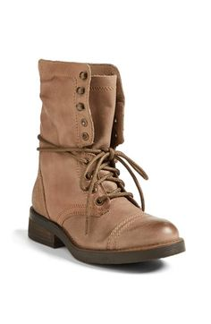 military boots - great with leggings and jeans