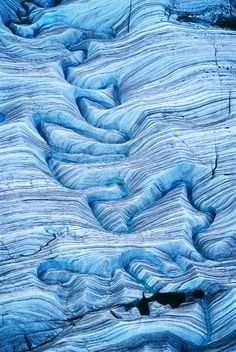Melting water on glacier at Wrangell-St. Elias National Park, Alaska - photo by Frans Lanting Aerial Photography, Landscape Photography, Nature Photography, Travel Photography, Frans Lanting, Photos Voyages, Parcs, Natural Wonders, Natural World