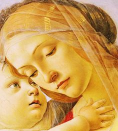 Sandro Botticelli [Alessandro di Mariano di Vanni Filipepi] (c. 1445-1510) and Workshop Virgin and Child with the Young Saint John the Baptist, c. 1490, (detail), tempera and oil on wood, 115.00 x 68.00 cm, Cleveland Museum of Art (CMA), Ohio, United States of America,