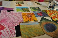 Wholecloth Fabric Painting with Susan Brubaker Knapp as seen on Quilting Arts TV Series 907 - Quilting Daily