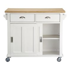 basic kitchen island - small and practical - love the leaf in the top....seriously considering.