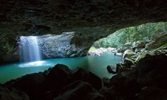 Secret Places: Australia - Natural Bridge, Springbrook National Park