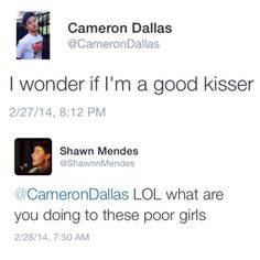 thank you Shawn, thank you. Stop it @Cameron Daigle Daigle Daigle Daigle Dallas I can't take it