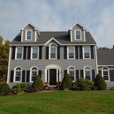 Split Level Addition Home Design Exterior Colors Paint Colors And Blue Houses