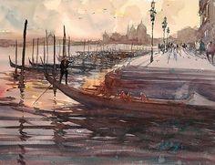 Keiko Tanabe Watercolor Painting