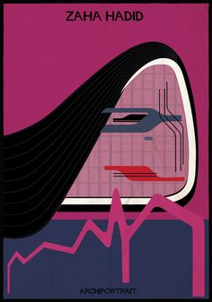 The Latest Illustration from Federico Babina: ARCHIPORTRAIT