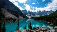 Banff National Park is a Historic Site in AB. Plan your road trip to Banff National Park in AB with Roadtrippers. Parc National De Banff, Banff National Park Canada, Voyage Usa, Blog Voyage, Landscape Wallpapers, Lac Louise, Places Around The World, Around The Worlds, Lago Baikal