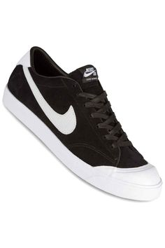 9143abd3eeb Nike SB Zoom All Court Cory Kennedy QS Chaussure (black white) Black And  White
